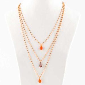 Collane rosario in argento India19