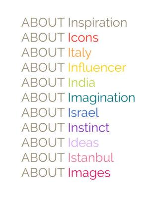 ABOUT Inspiration, il magazine di AIBIJOUX